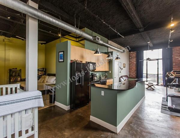 San Jacinto Lofts Converted Warehouse Loft Lofts Houston