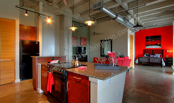 Houston Loft Apartments for Rent | Medical Center